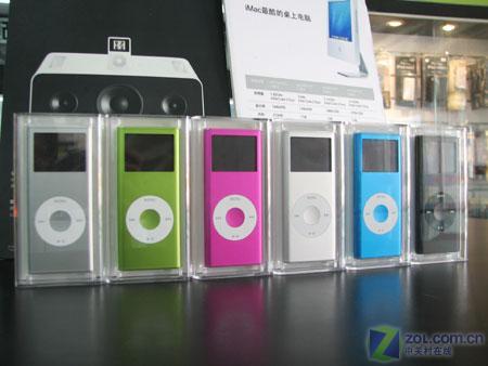 苹果iPod又猛促2GBnano2送充电器