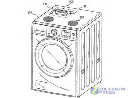 LG滚筒洗衣机会唱歌也能做iPod底座