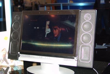科技时代_英特尔展示三大概念PC 笔记本与TV合为一体