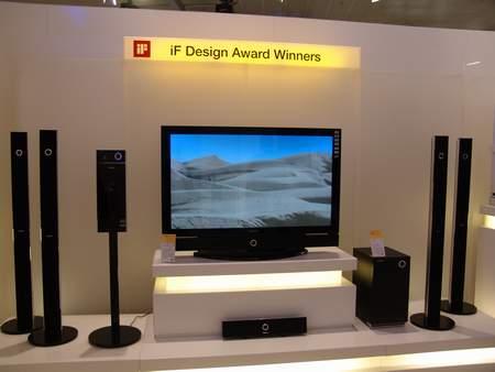 科技时代_CeBIT2006:三星获iF设计大奖家庭影院产品