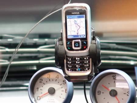 科技时代_CeBIT2006上演示手机导航方案