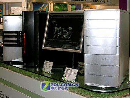 阵容强大酷冷军团亮相台北国际电脑展