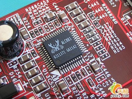 主板集成realtek alc883 8声道hd audio音效芯片
