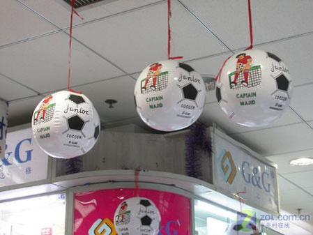 促销送足球格之格世界杯促销送好礼