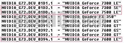 nVIDIA要推出7600LE、7500LE、7300SE