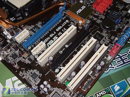 1394/双网/热管华硕顶级NF570SLI上市