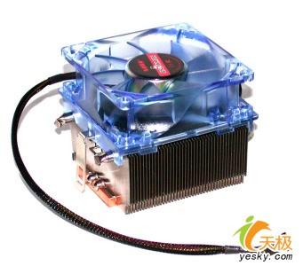 AM2处理器专用散热器九州风神Snowman浩龙
