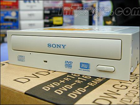 支持DVD-RAM!索尼G120A刻录机降至359元