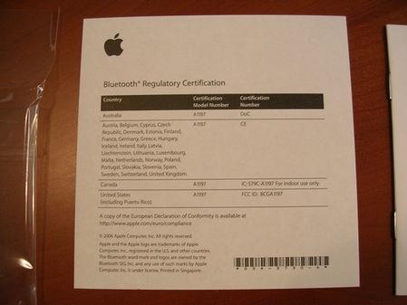 售价69美元苹果新无线鼠标实物[图]