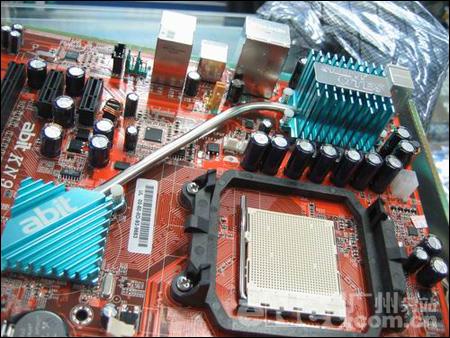 兼顾超频/散热升技AM2NF4U主板仅777元