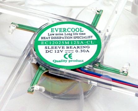 EVERCOOL专利炫目散热风扇上市!