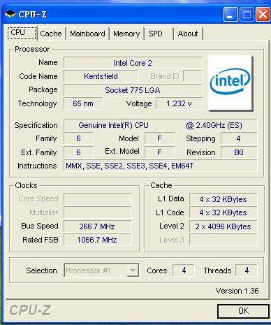 全球首款,QDI支持四核处理器965推出