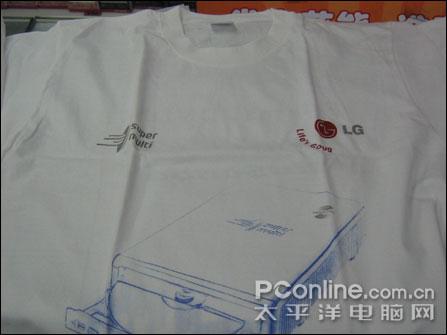 加量不加价LGH10N刻录机上市299元送T恤