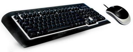 """技嘉""""战神""""套装家用键盘鼠标的首选品"""