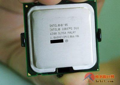 英特尔酷睿2E6300处理器首次跌破1500元