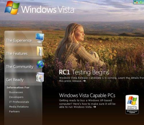 VistaRC1公测开始官方最终价格透露