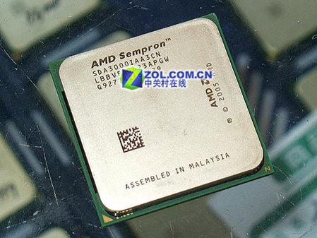 AM2闪龙3000+处理器散装到货仅售400元