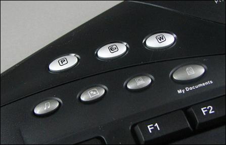 多媒体豪华键盘精灵ErgoMedia700