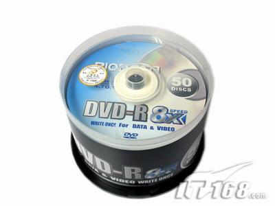[上海]超值先锋DVD±R刻录盘50片只需90元