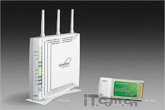 NEC即将发行最新无线路由设备套装