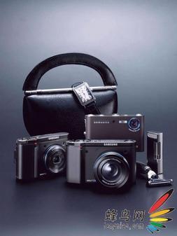 三星公司在台湾地区发布三款数码相机!