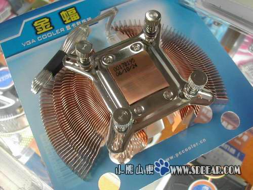 超频三显卡散热器新品到货