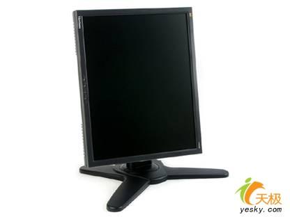优派vp930b液晶显示器采用了成熟稳重的黑色作为主色调,纤细边框不