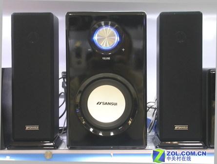 科技时代 硬件 正文      山水32a的卫星箱采用了av音箱中常见的音柱