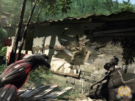 射击游戏 孤岛危机 最新战斗画面公布