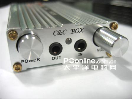 三个补偿增益开关,C&CBOX便携式耳放