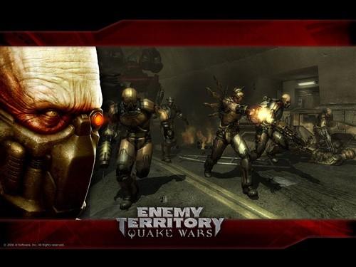 《敌占区雷神战争》游戏壁纸