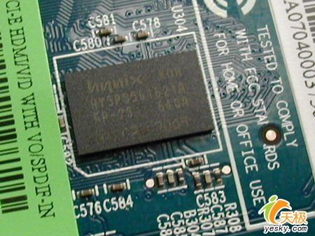 电视电脑都能用蓝宝石X1650HDMI显卡到