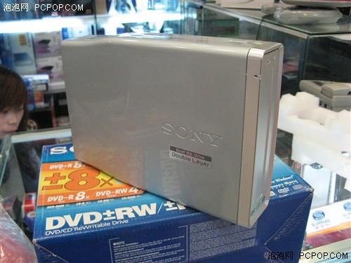 岁末清仓索尼经典外置DVD刻录机打4折