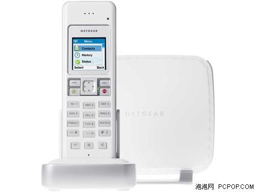 网件新品普通电话转无绳还支持Skype