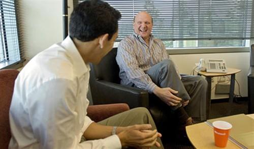微软CEO斯蒂夫-鲍尔默的一天(图)