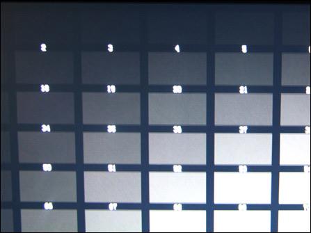修复处膜过程图-第3格亮度方格块的亮度控制能力表现在目前的TN面板液晶显示器中属