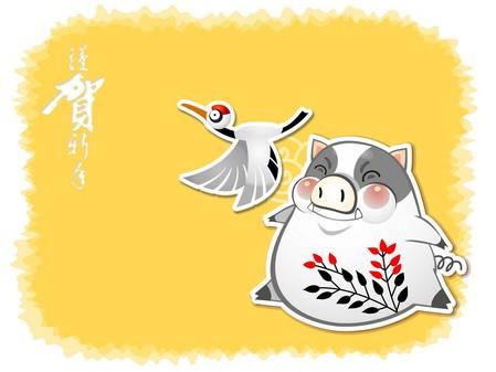 5张春节壁纸下载特辑贺岁迎新金猪年