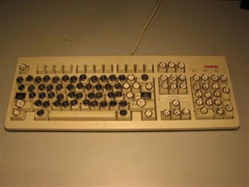 个性化键盘自己打造 蒸汽朋克键盘DIY