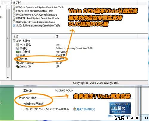 网络盛传免费激活Vista方法全程揭秘
