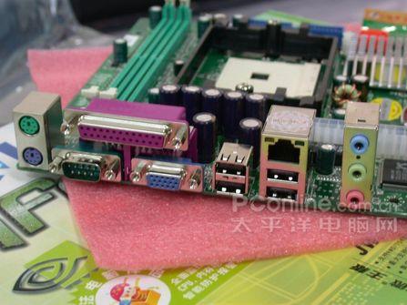 754接口杰微JWC617C61V主板399元到货上海