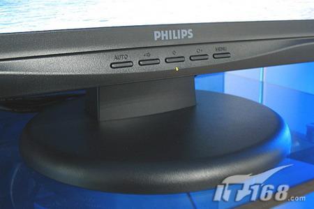 续经典飞利浦190CW7液晶显示器黑色版上市