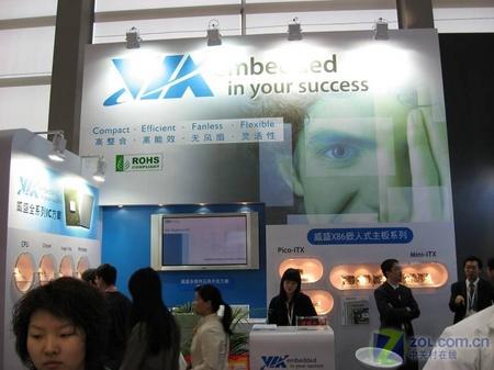 小就是美威盛嵌入式产品闪亮IIC中国07