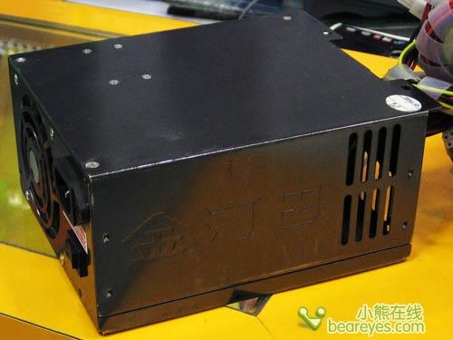 金河田额定400W电源ATX-S550仅售450_硬件