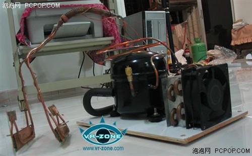 干冰大炮+压缩机!绝对顶级的制冷平台