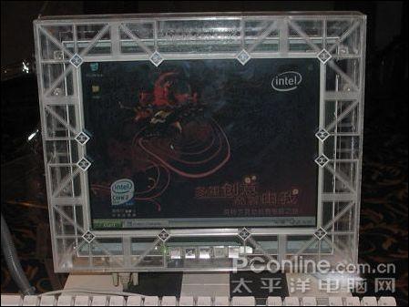t7200,微星945gt speedster主板,2g内存,gma950集成显卡,2块希捷80g硬