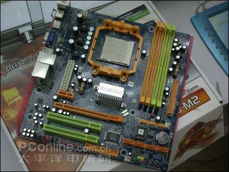 爽看高清映泰HDMI口C68PV主板跌100