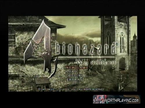 Wii版《生化危机4》游戏截图