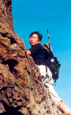 科技时代_张朝阳每周都要爬一次山 目标为活到150岁