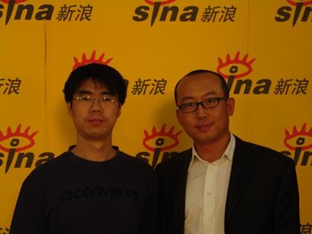 拍客网尹海龙做客白银时代:做中国Myspace