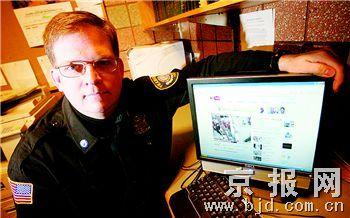 科技时代_美国警察发布网络通缉令协助破案
